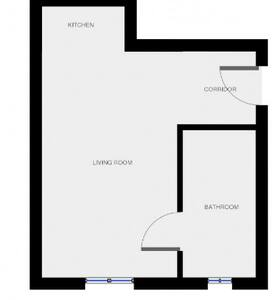 Brand new studio flat near the station - Appartement