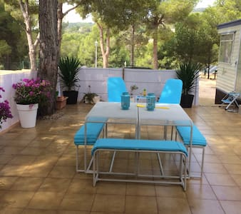Lovely mobile home in Finestrat close to Benidorm - Finestrat - Wohnwagen/Wohnmobil