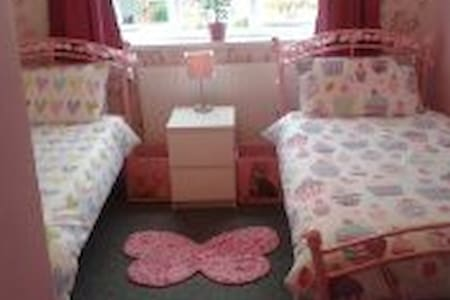 Butterfly room with twin beds - Bed & Breakfast