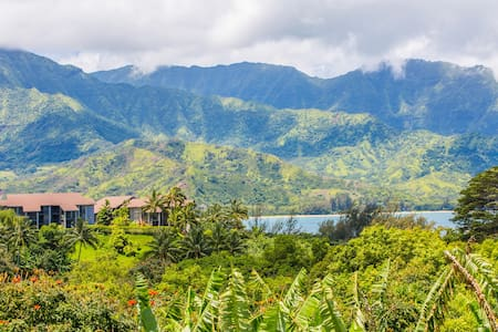 Ocean & mountain views lovely condo - Princeville - Villa