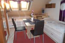 Appartement am Altmühlsee ca. 500 m für 2 Personen