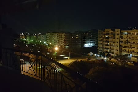 third floor apartm.with nice view - Εύοσμος - Appartement