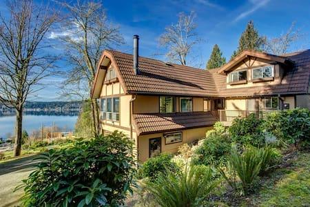 Lake View Cottage Main Floor Bedroom - 사마미시(Sammamish) - 단독주택