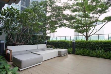 stay in hear of BKK ,like you house - 曼谷 - Apartamento