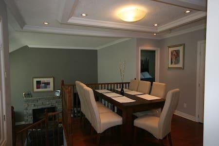 Modern Side-Split with In-law Suite - Ottawa