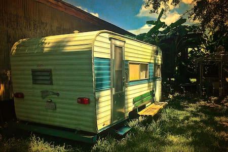 66 Fireball Camper @ The Whirlybird, Vintage Charm - Opelousas - Camper/RV