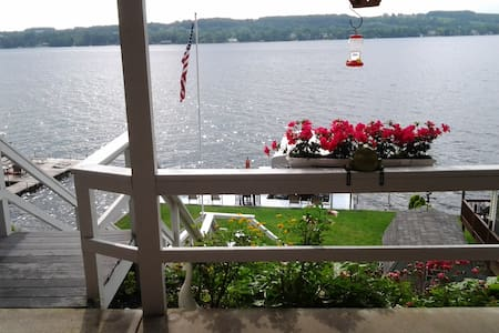 Keuka Lake Sunrise in the Heart of the FingerLakes - Apartment