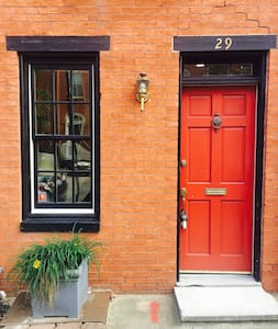 Private Row House - Near All You Want - Baltimore - Maison de ville