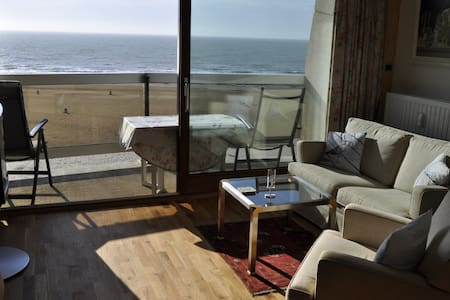 Superior apartment in 1. sea line - Appartement