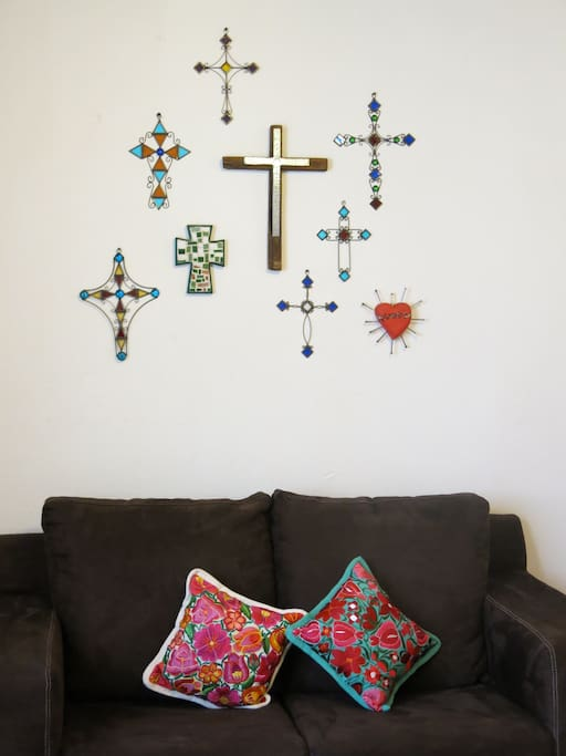 Crosses decoration