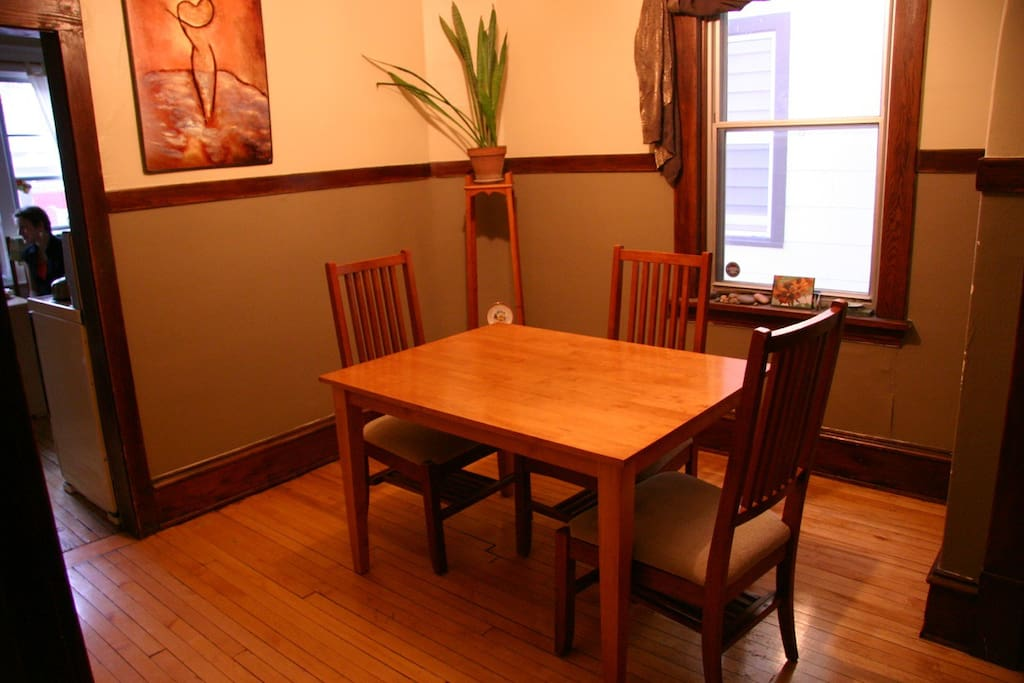 Dining or study area