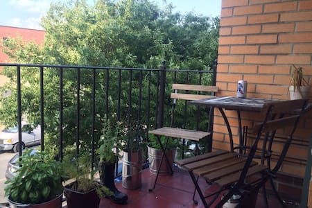 Private Balcony and A Great Host =)