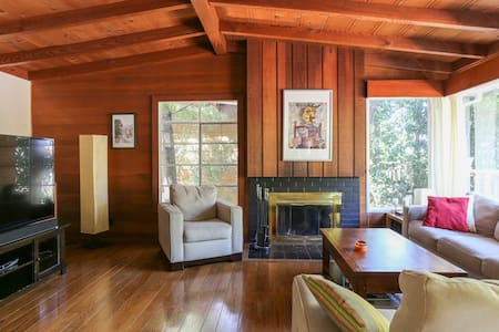 Private & secluded Marin haven