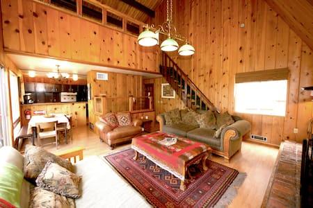 Getaway cabin w/lake views