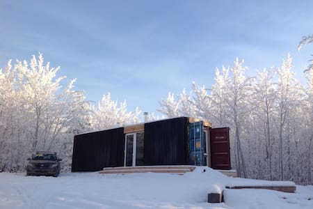 shipping container tiny house - House