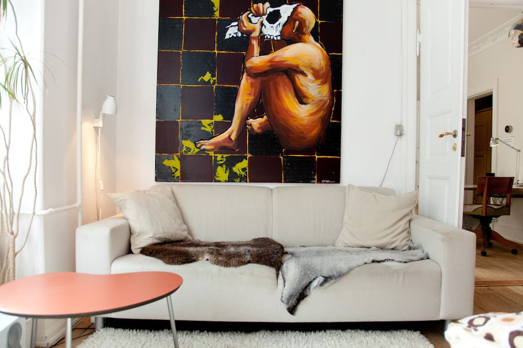 Unique Home with Unique Art