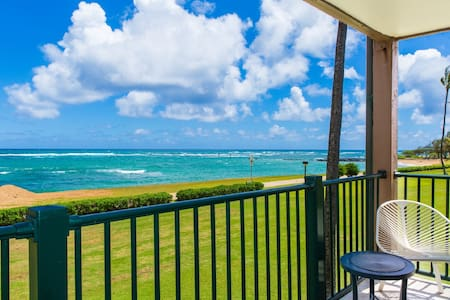 Beautifully updated ocean front condo - Kapaa - Συγκρότημα κατοικιών