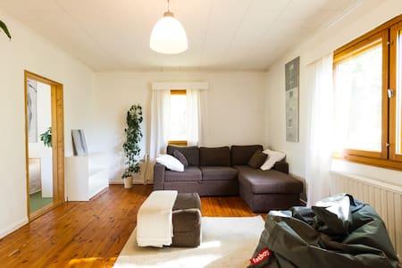 Idyllinen talo, 100 m2, Rovaniemi - Ev