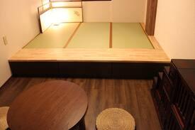 Wi-Fi完備!兼六園も近いので茶室スタイルのお部屋にしてみました!