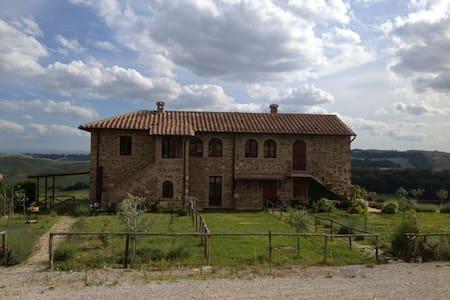 Country Home Apt. in Crete Senesi - Leilighet