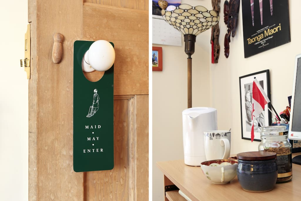 Tea/Coffee in your room