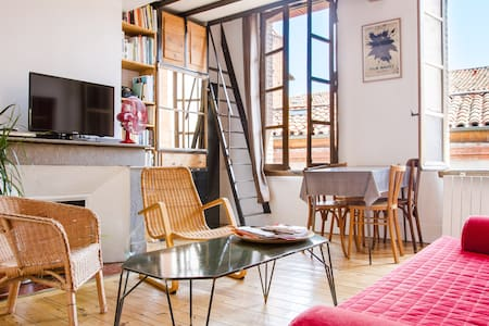 Central quiet sunny 1 bedroom flat - Toulouse - Appartement