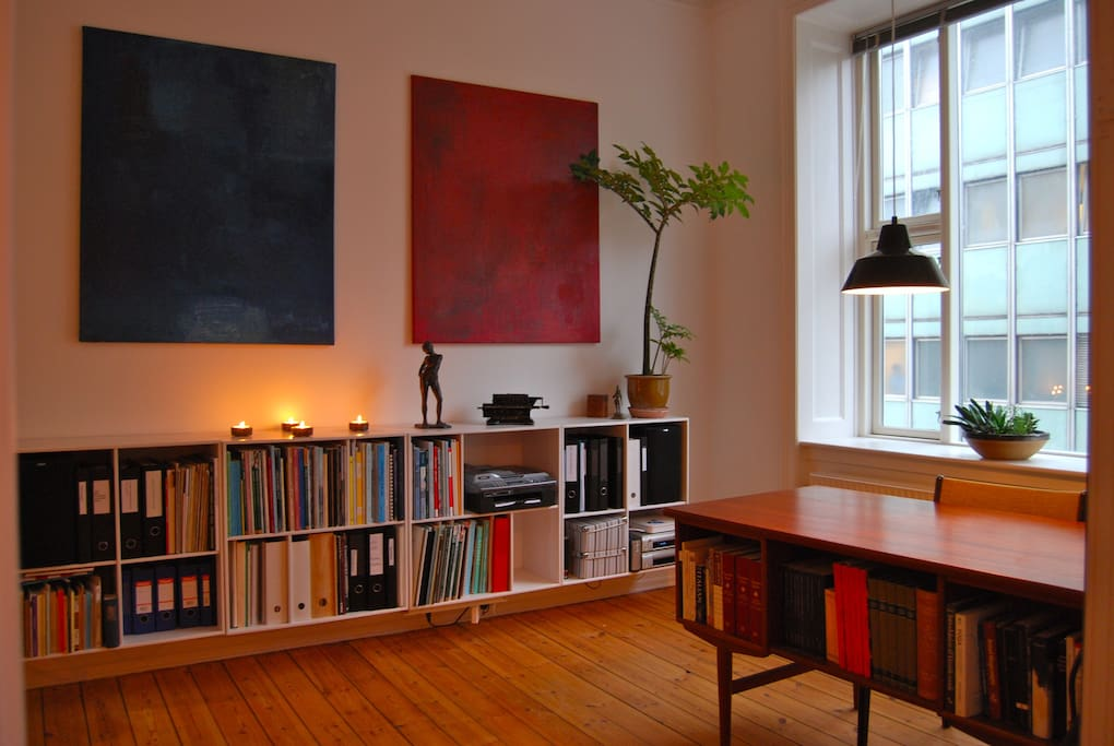 Office - this is where I work when I'm at home, and keep all my musical scores and books.