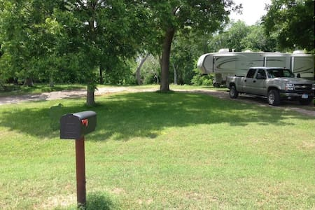 Guadalupe Riverfront RV Lot