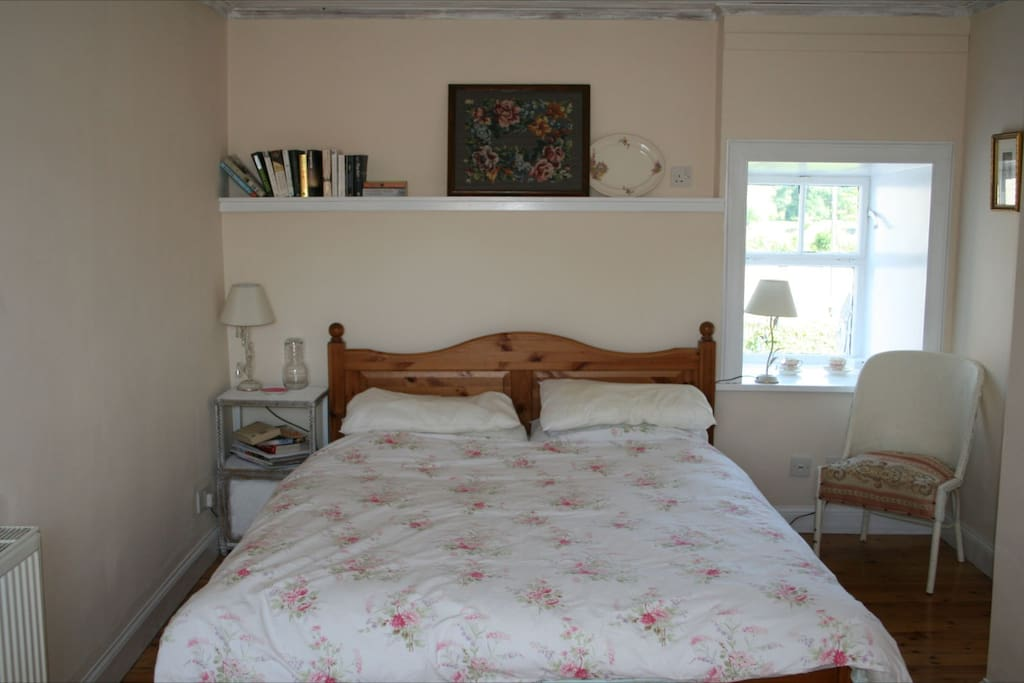 One of the two double bedrooms