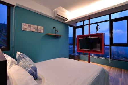 【九份見晴民宿】現代工業風 (2人房) - Bed & Breakfast
