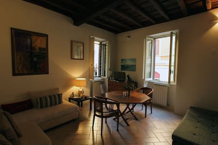 An affordable Flat in Rione Monti