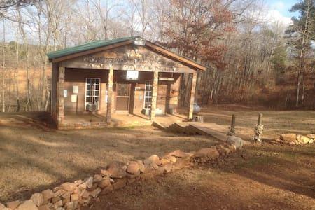 Rustic country cabin in the woods - Blockhütte