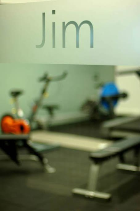 The Gym or as it is affectionately known 'Jim'