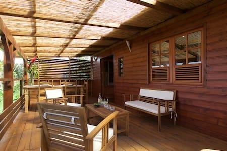 bungalow vert caraïbe - Ház