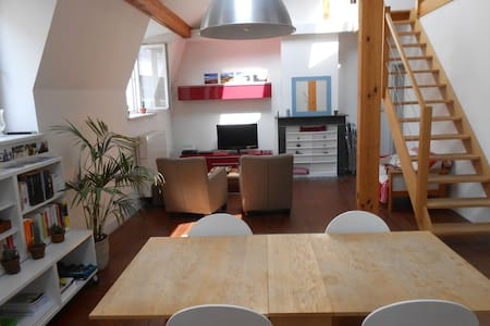 Duplex in the heart of Brussels