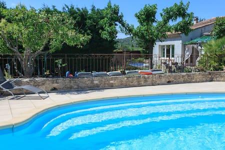 60m2 flat + pool - Enjoy ! - House