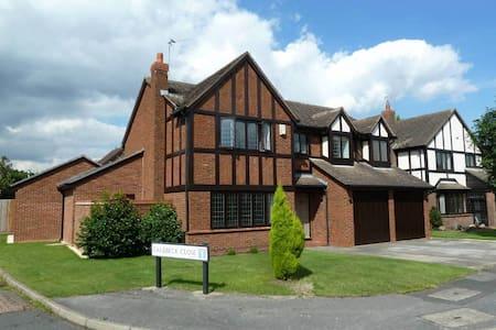 LIGHT AIRY HOUSE NEAR TRENT BRIDGE - Gamston - House