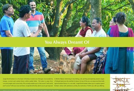 Jungle Book Konkan : Agro Tourism - Ratnagiri - Bed & Breakfast