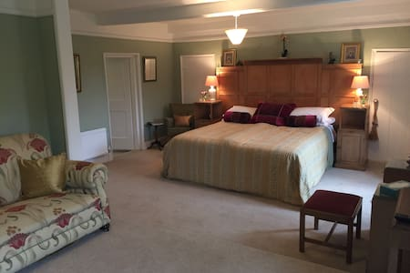 Huge & Spacious En-suite Room in North Norfolk, - Hus