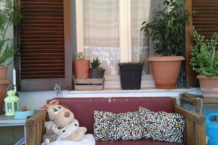 cozy and charming bedroom in a special flat - Athens