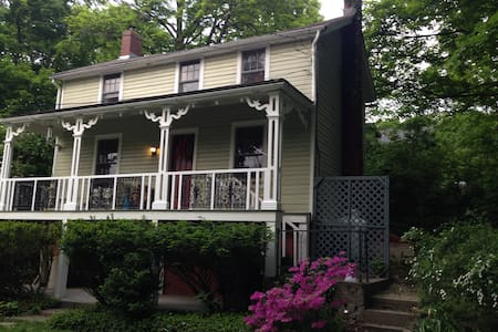 Rhinebeck jewel - quiet, central-vacation/business - Ev