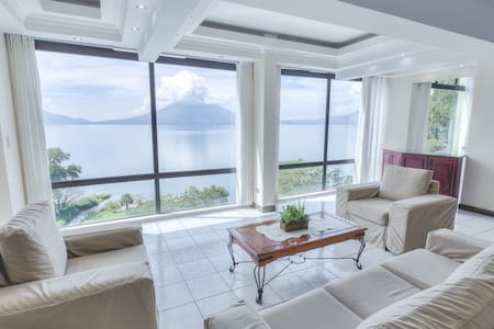 Luxurious Apt. with amazing view to Lake Atitlan - Lakás