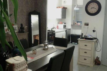 Chambre agréable et lumineuse - La Membrolle-sur-Choisille - Apartmen