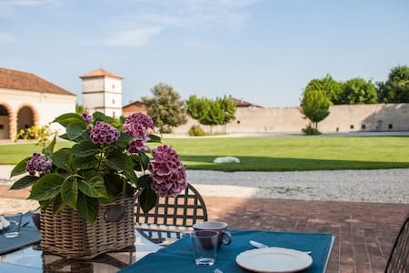 Alloggio villa Sangiantofetti-Rigon - Ponte di Barbarano - Wohnung