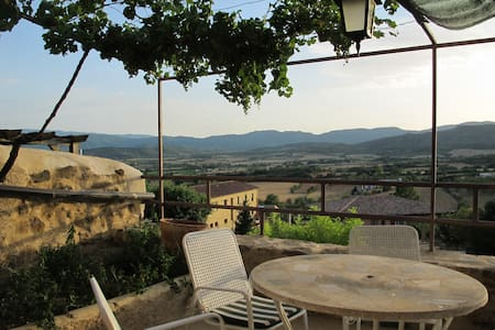 Loft with a stunning terrace - Talarn