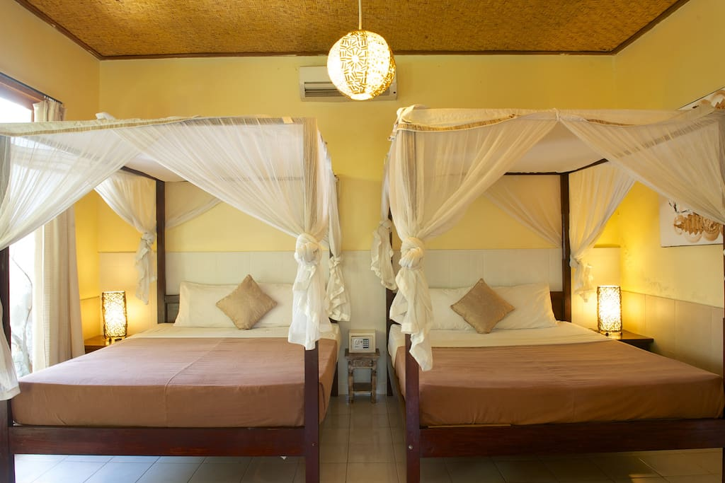1BR Villa-2 Beds(4px)AC/WF/Pool/Kit