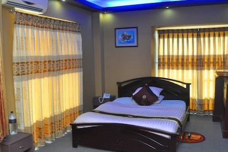 Its a nice bedroom