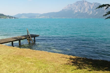 Apartment with private lake access - Unterach am Attersee