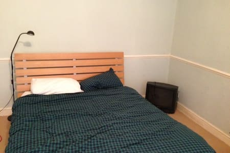 Spare room in a nice quiet flat