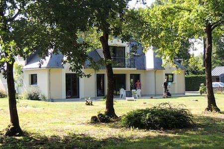 Maison moderne lisière bois - Maison